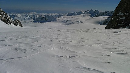 View of Fox neve from Pioneer Pass