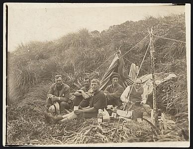 Survey party in the Tararuas (1911)
