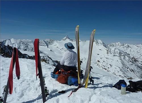 On the Schalfkogel Joch. Photo: John Nankervis