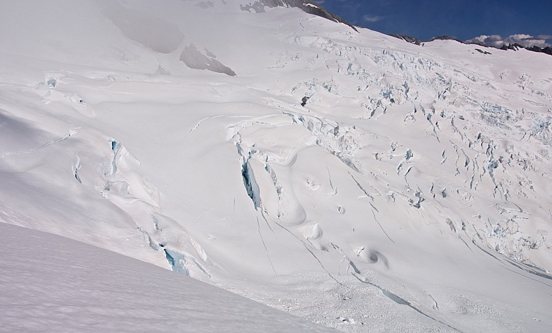First sight of the Whitbourn Glacier