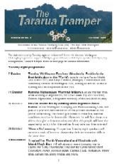 The Tararua Tramper
