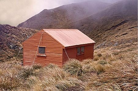 Vosseler Hut - photo Geoff Spearpoint