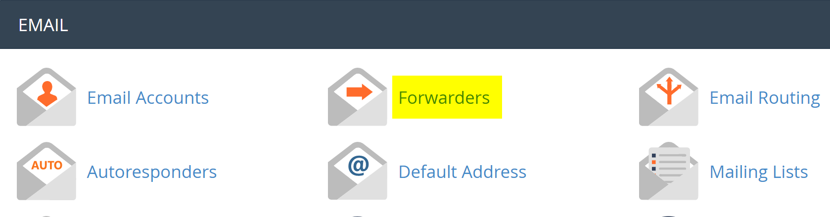 CPanel Mail functions